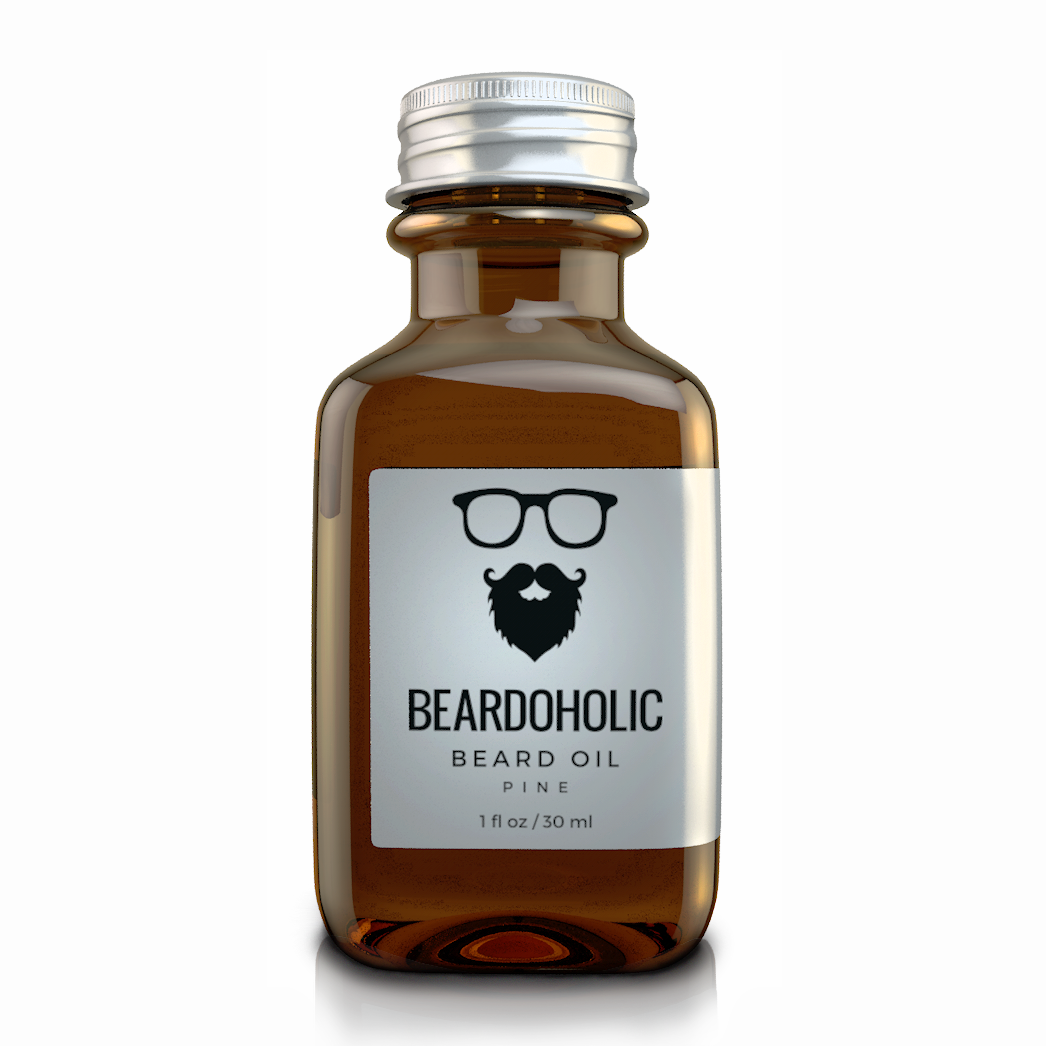 Beardoholic Natural Beard Oil Pine Scented
